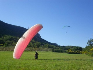 Paraglide, parachute, heteluchtballon
