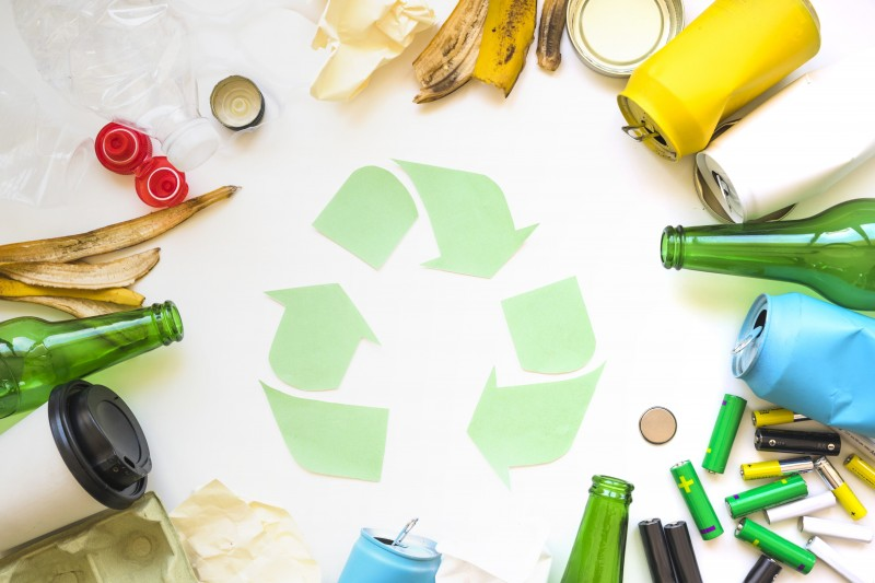 Afvalscheiding, milieustraat